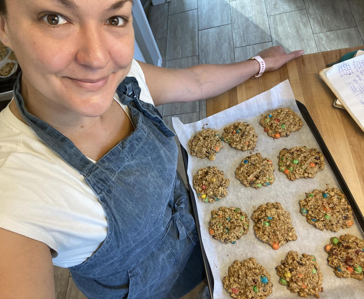 Lindsay monster cookies