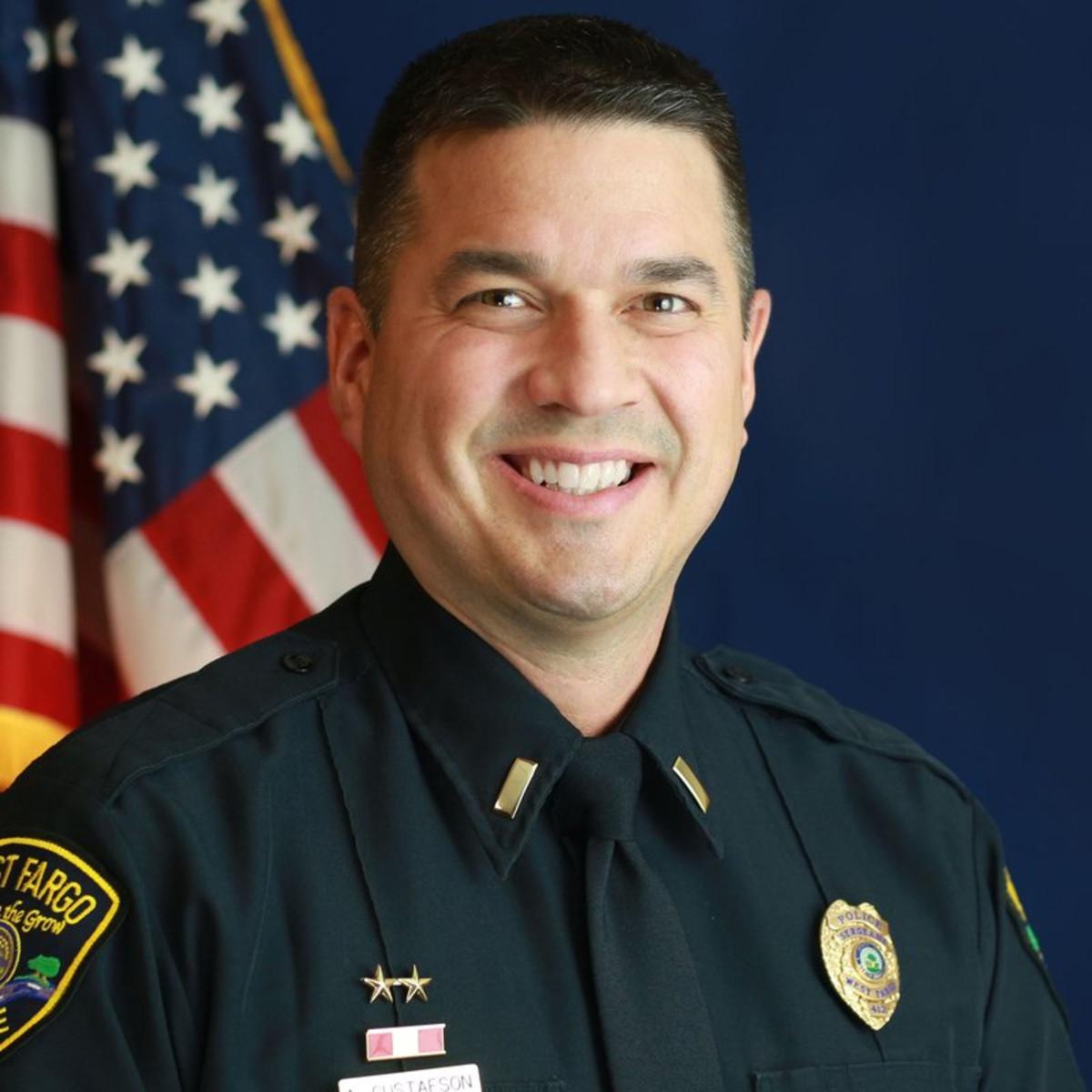 Lt.Adam Gustafson.