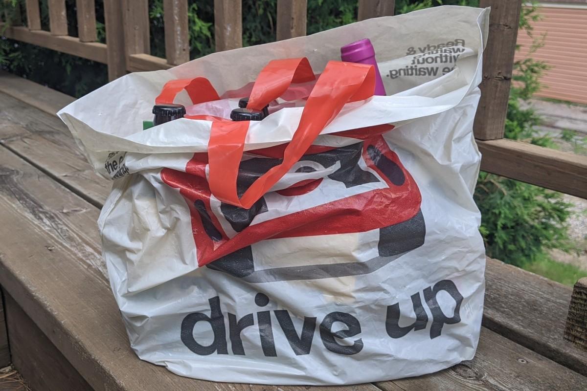 BMTN - Target drive up bag booze
