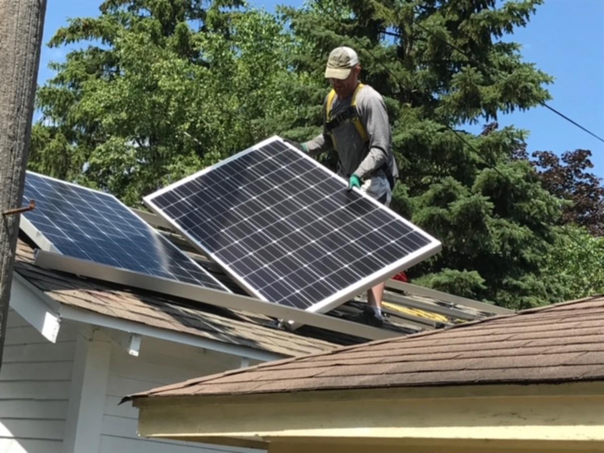 All Energy Solar - Home Improvement Solar Panel Installation - May 2021