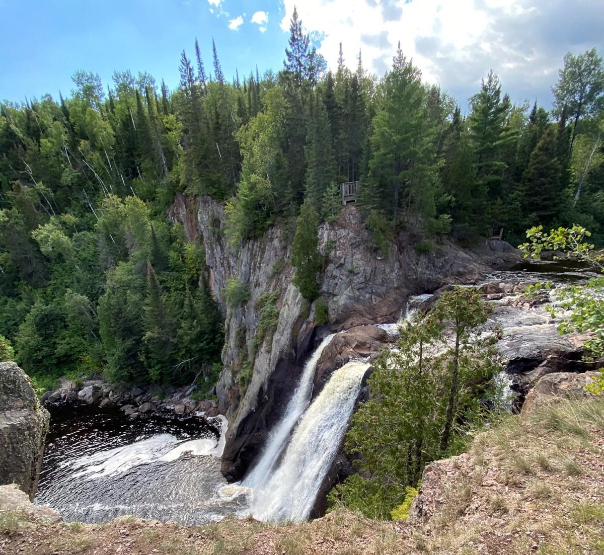 high falls at tetteguche