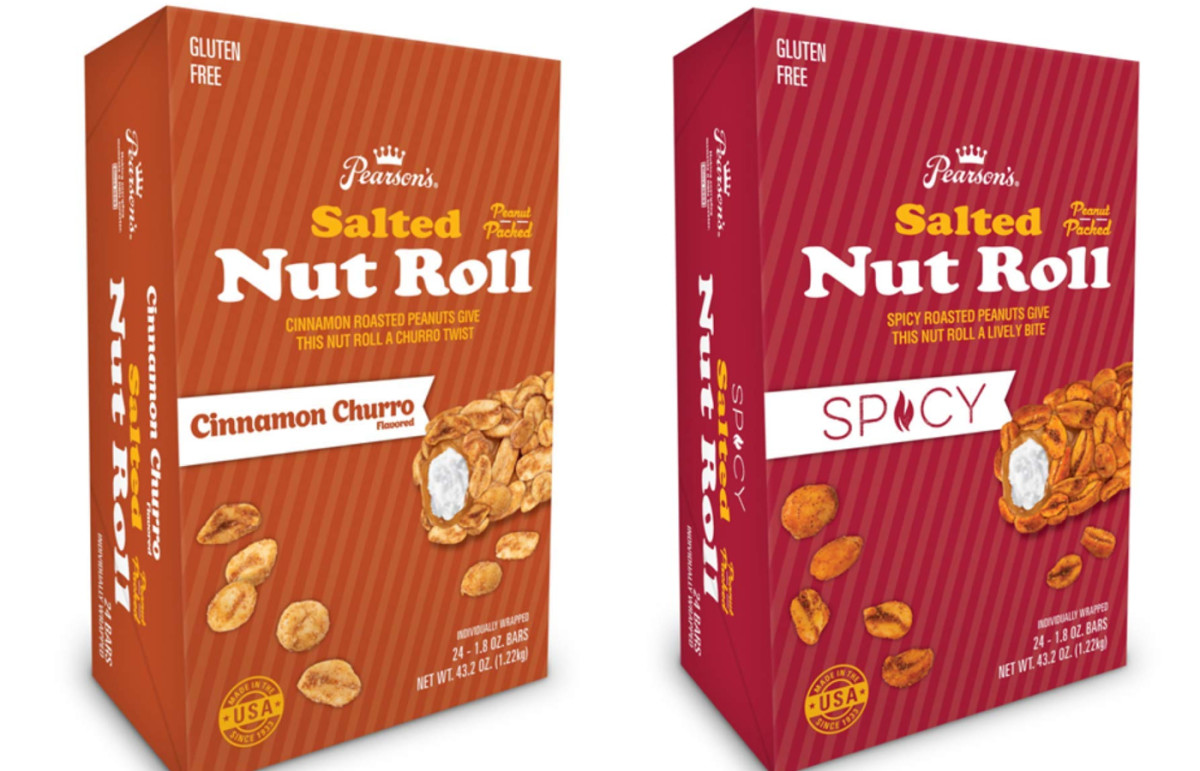 Pearson's - Nut Roll new flavors - collage