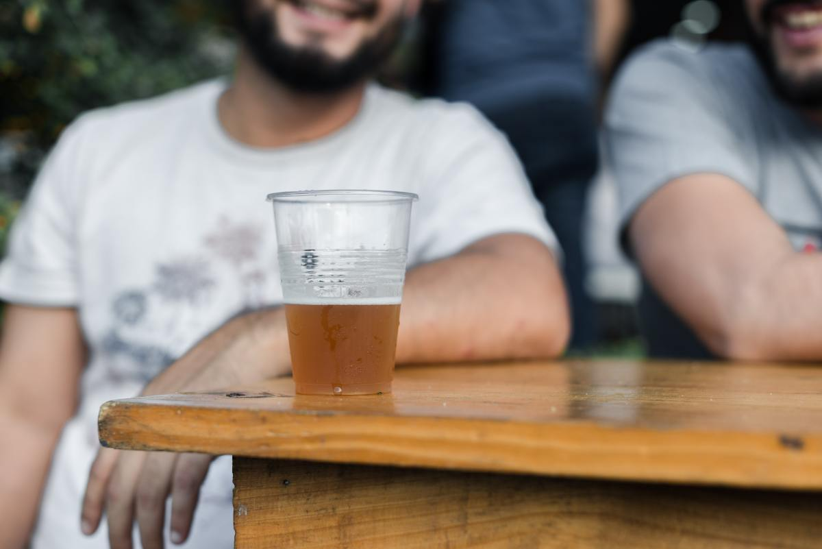Pexels - beer outside patio brewery