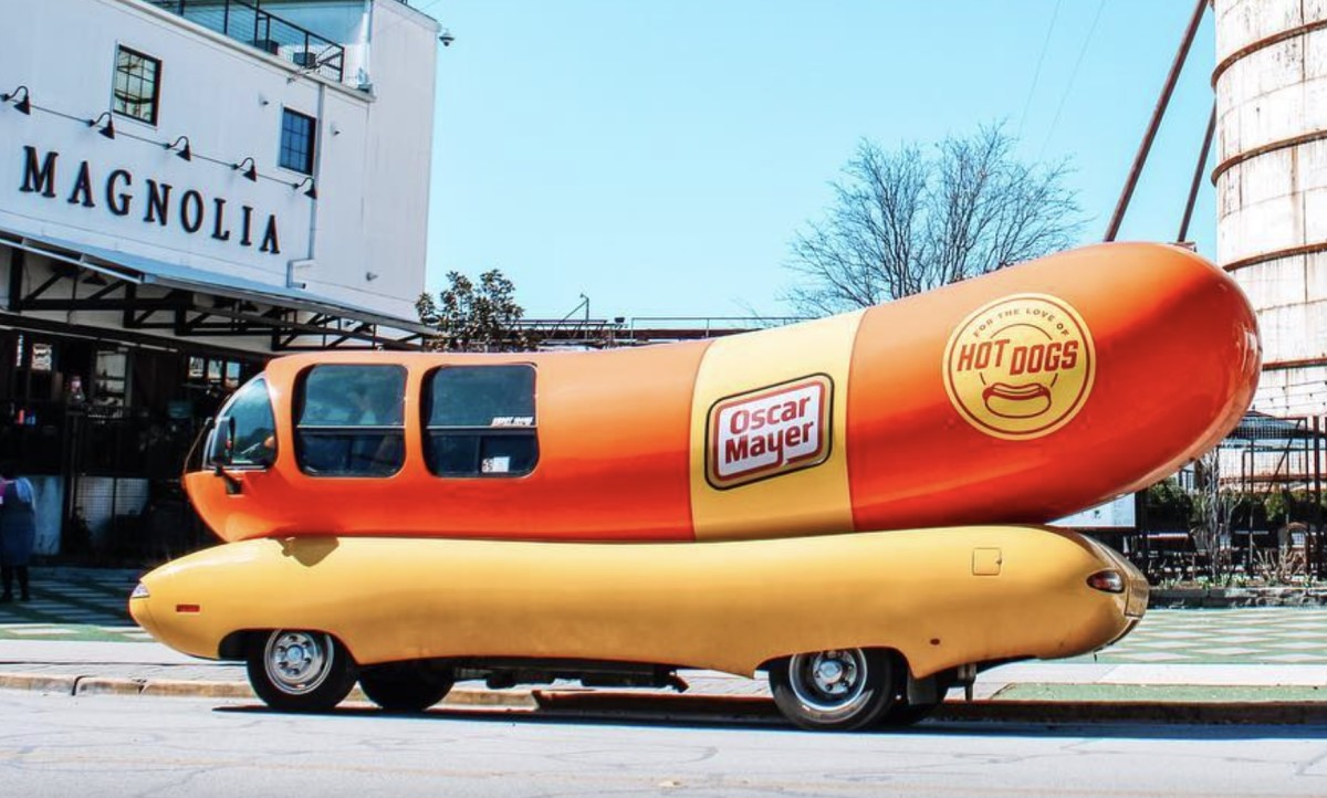 """It's at this point where we're like, """"Huh, so my chosen career is writing about hot dog vehicles ... interesting."""""""
