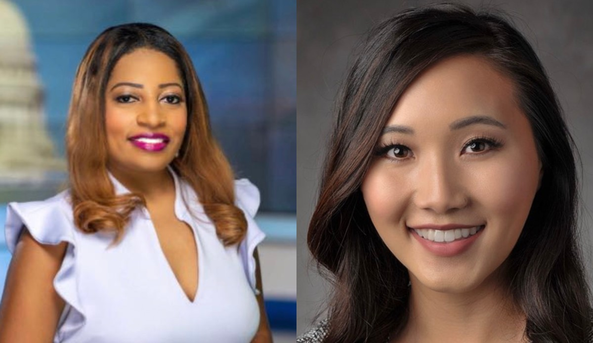 Brittney Ermon, left, and Pafoua Yang.