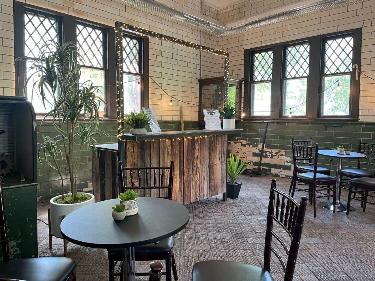Glensheen Mansion's Coffee Bar.