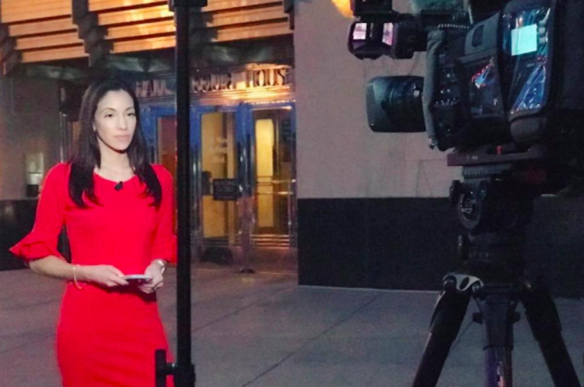 Reporter Iris Perez