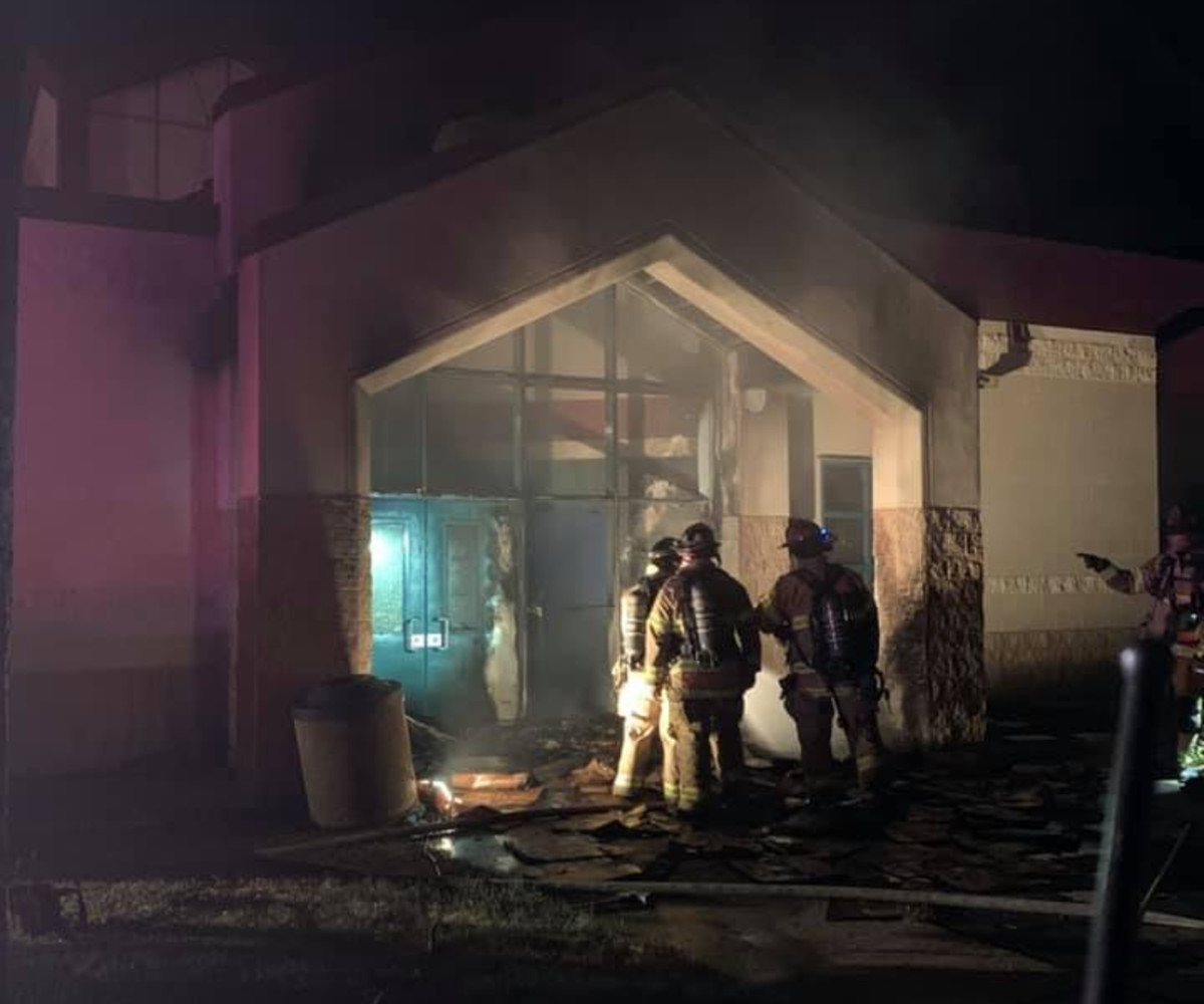 Facebook - Conway Community Center fire June 20 2021 - SPFD