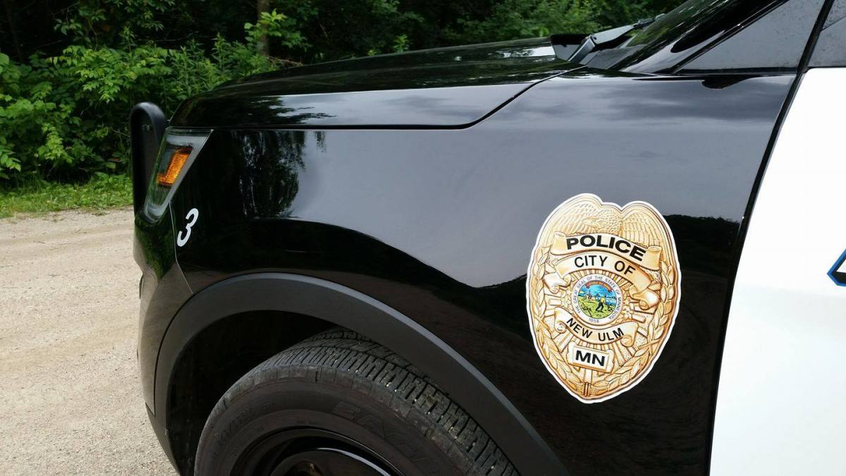 new ulm police department squad car