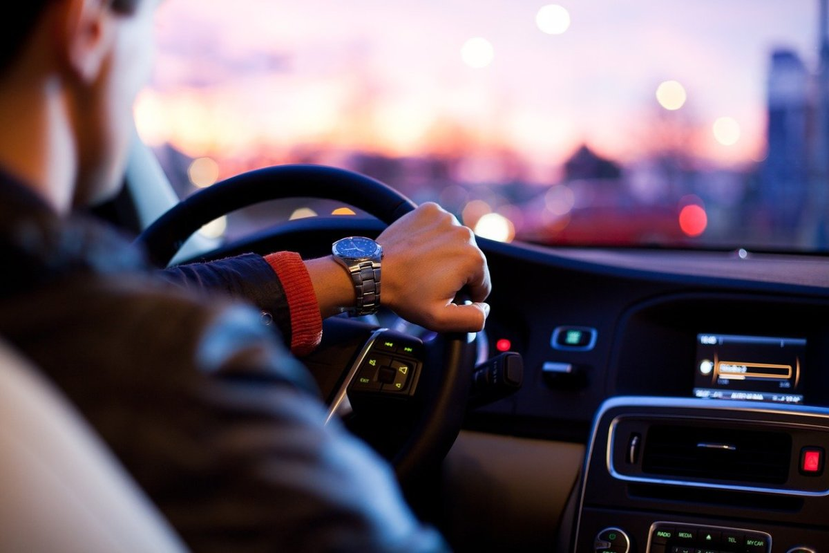 Driving car wheel