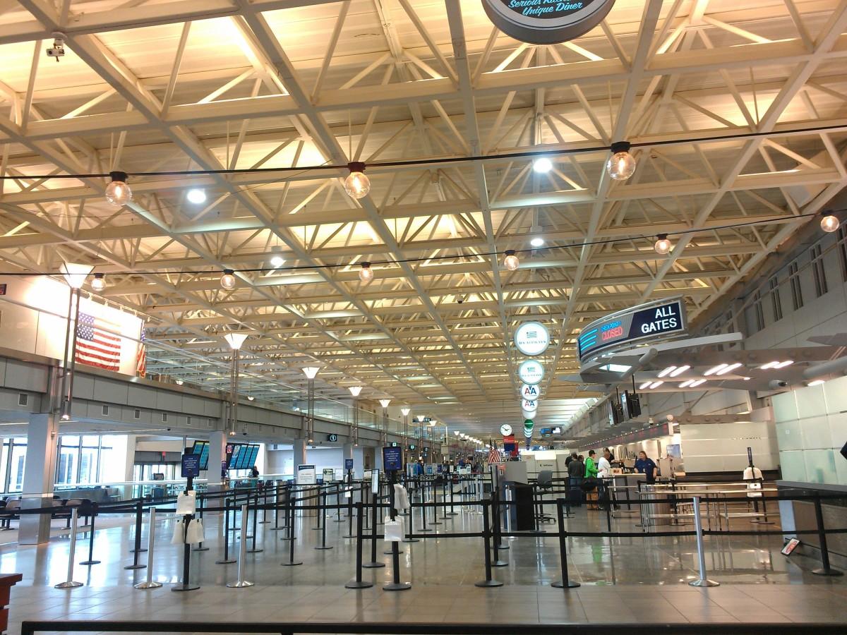 msp airport security tsa