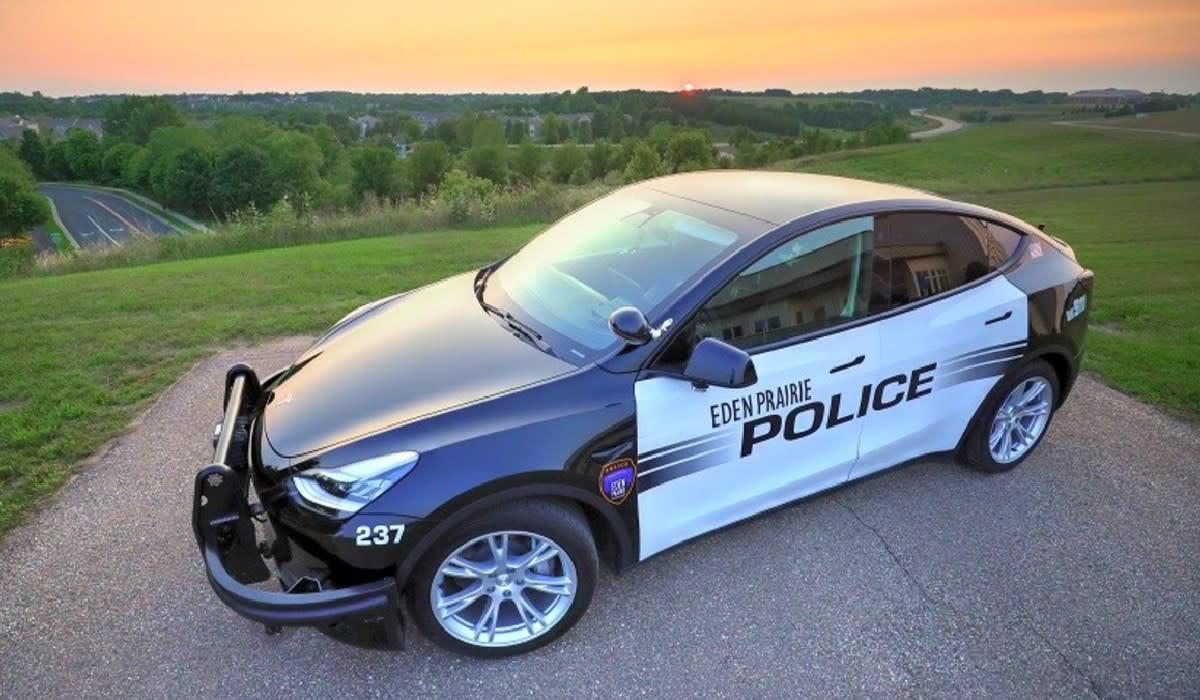 eden prairie police department tesla
