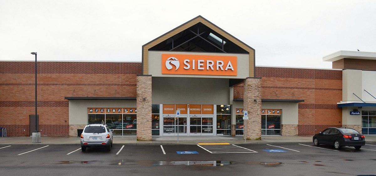 Wikimedia COmmons - Sierra store - Steve Morgan