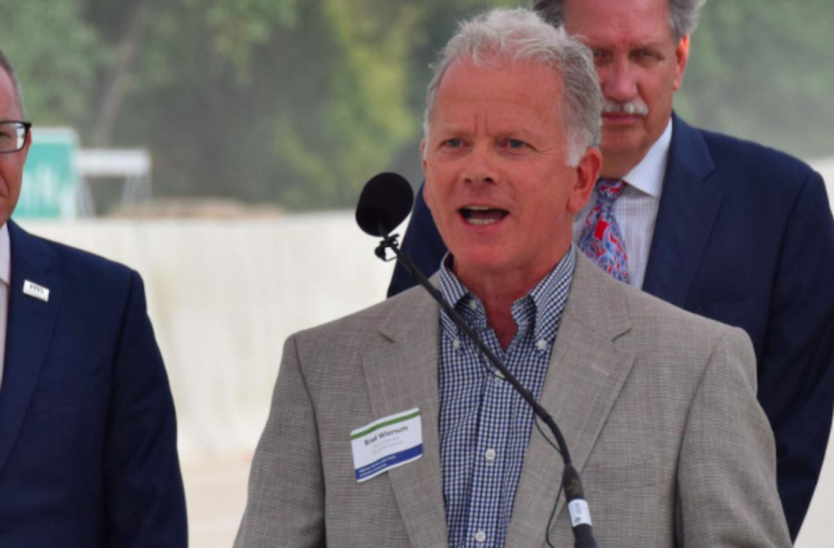 Mayor Brad Wiersum