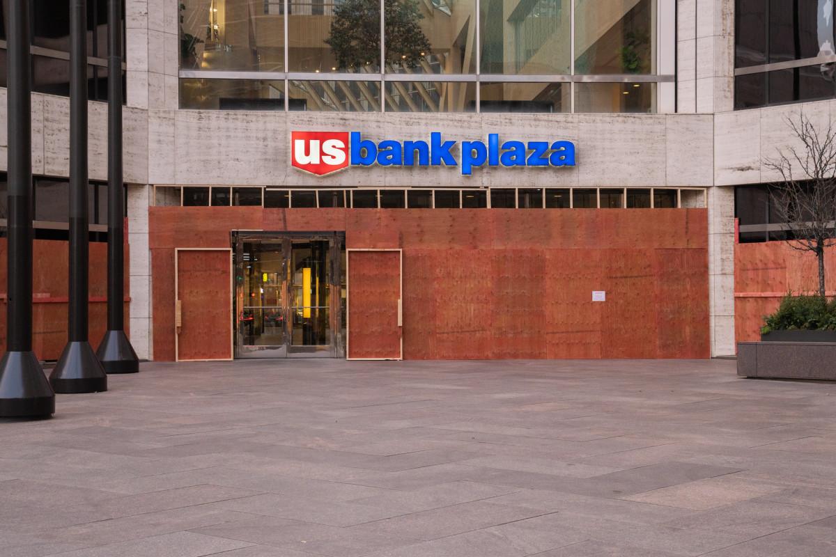U.S. Bank Plaza in November of 2020.