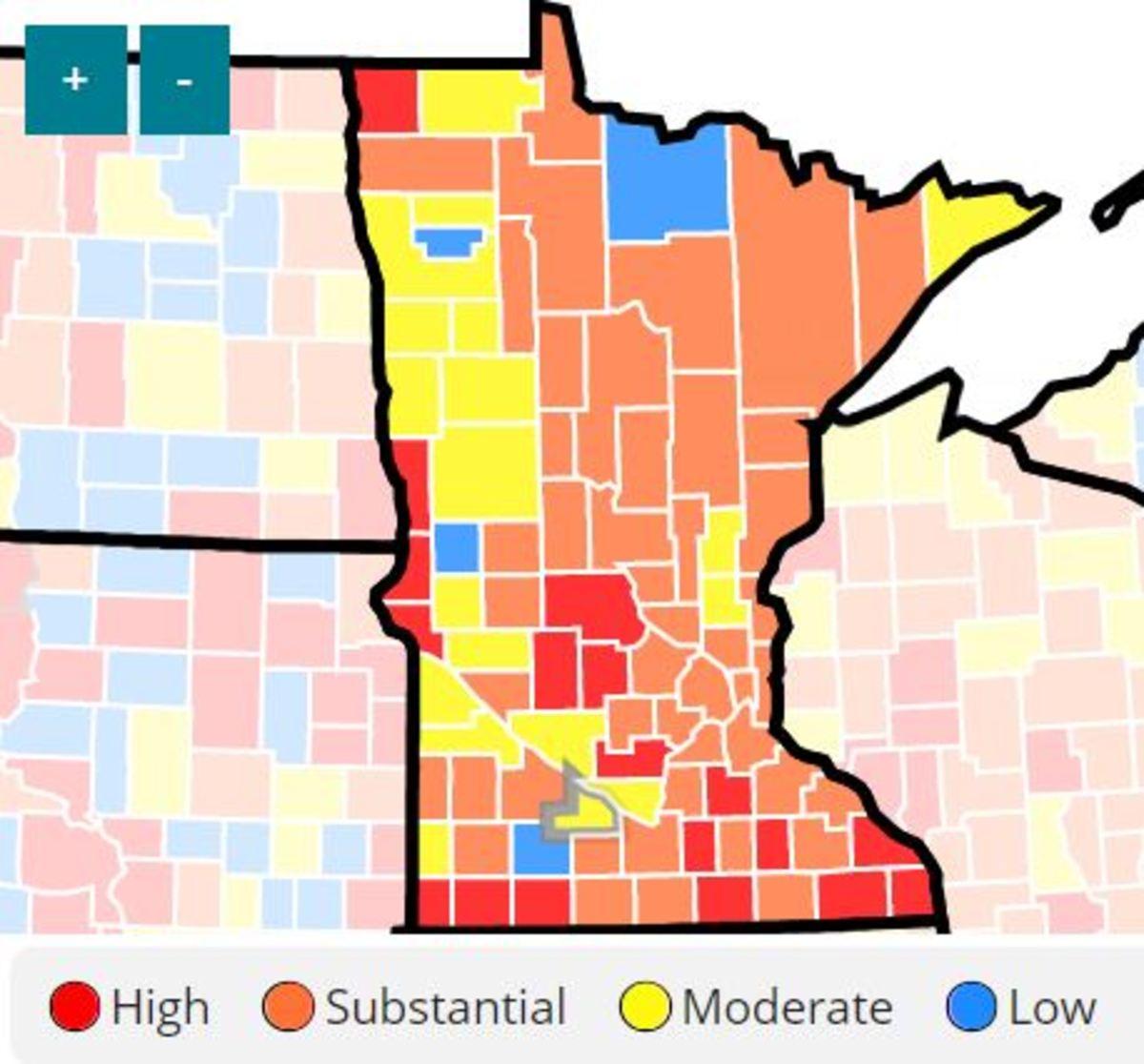 CDC Minnesota transmission mpa - Aug 5 2021