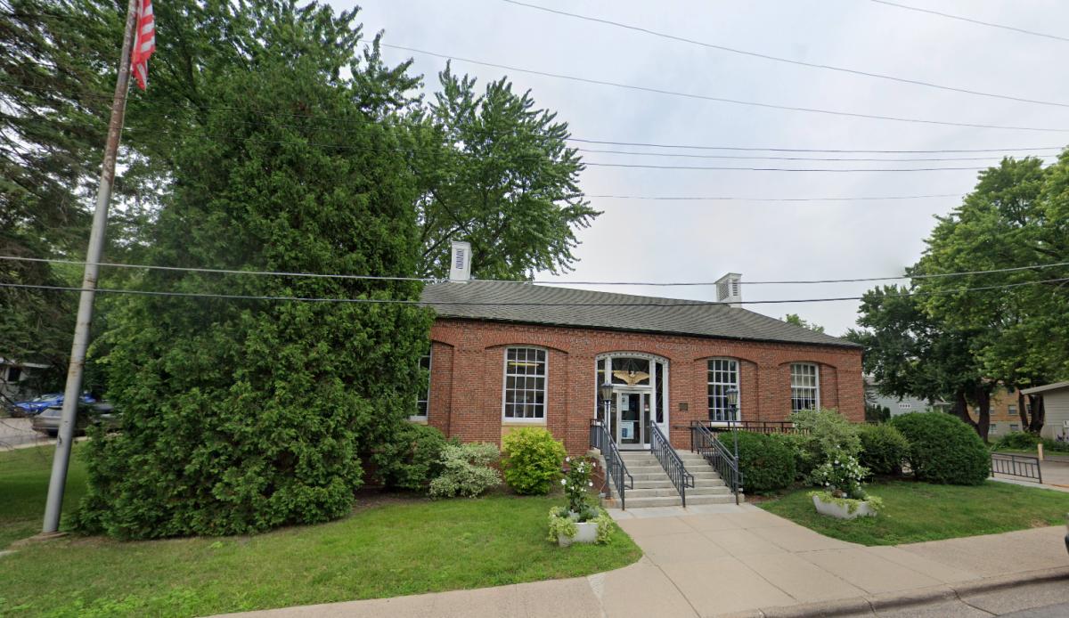 The U.S. Post Office in Wayzata.