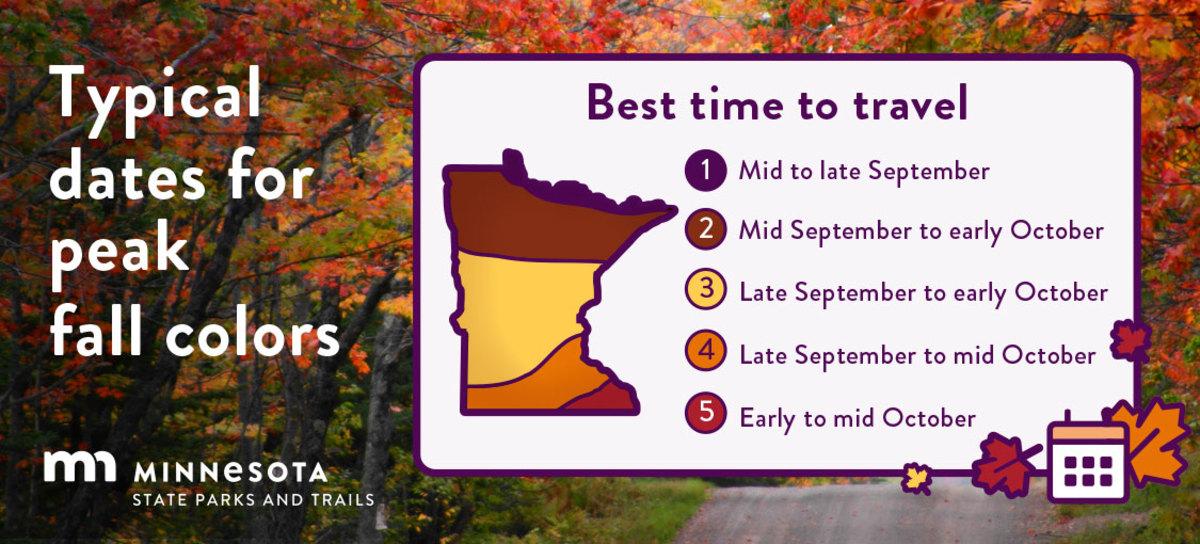 minnesota DNR peak fall color