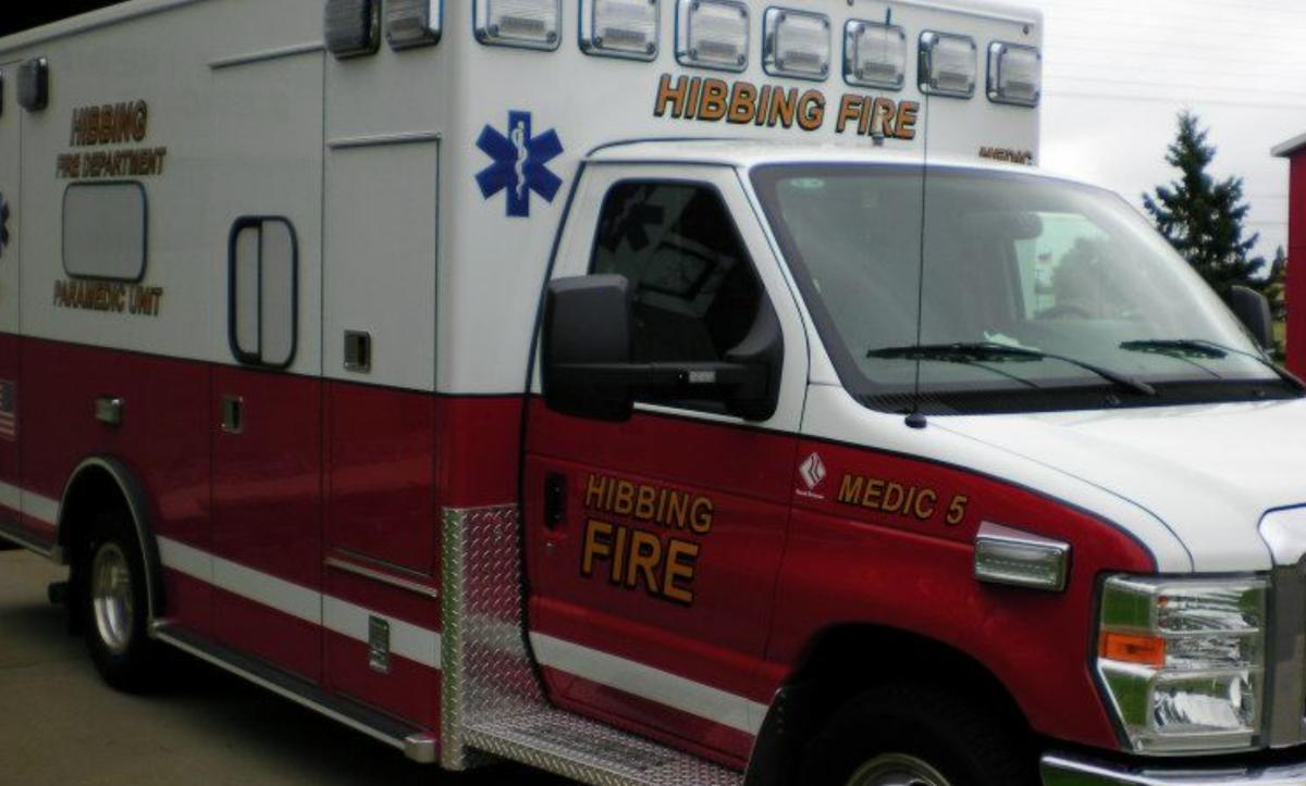 Hibbing ambulance