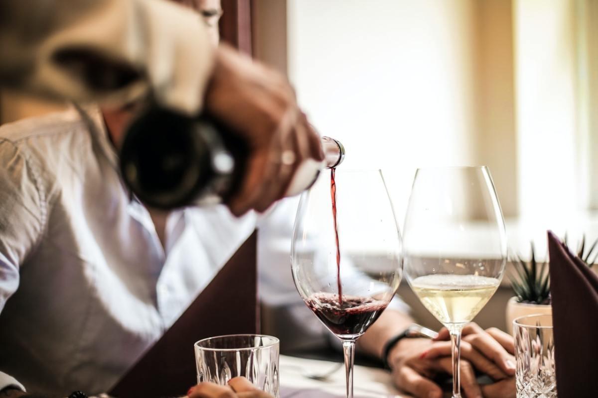 Pexels - wine waiter restaurant pour