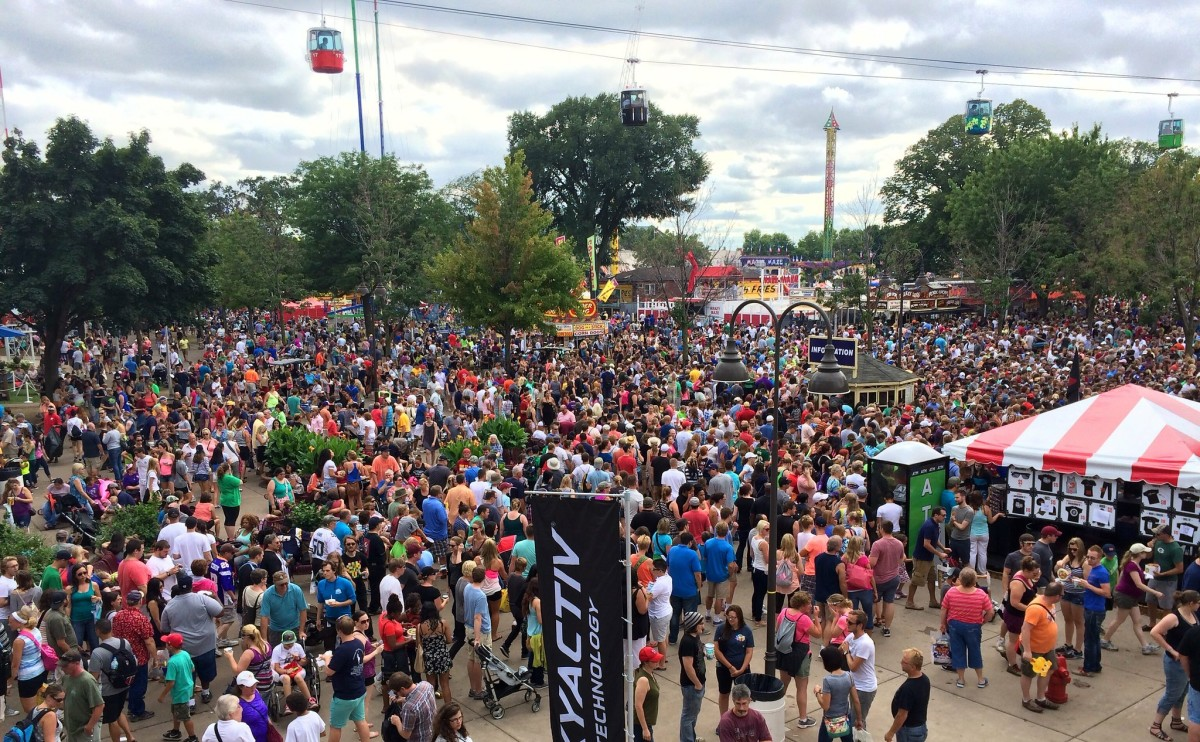 FLckr - mn state fair crowd - keithminer