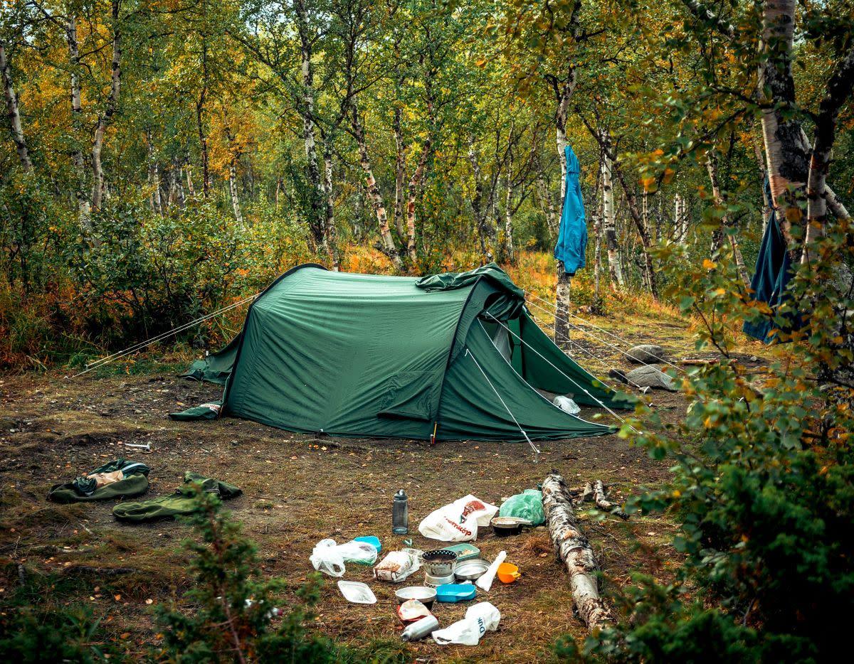 dispersed camping mn