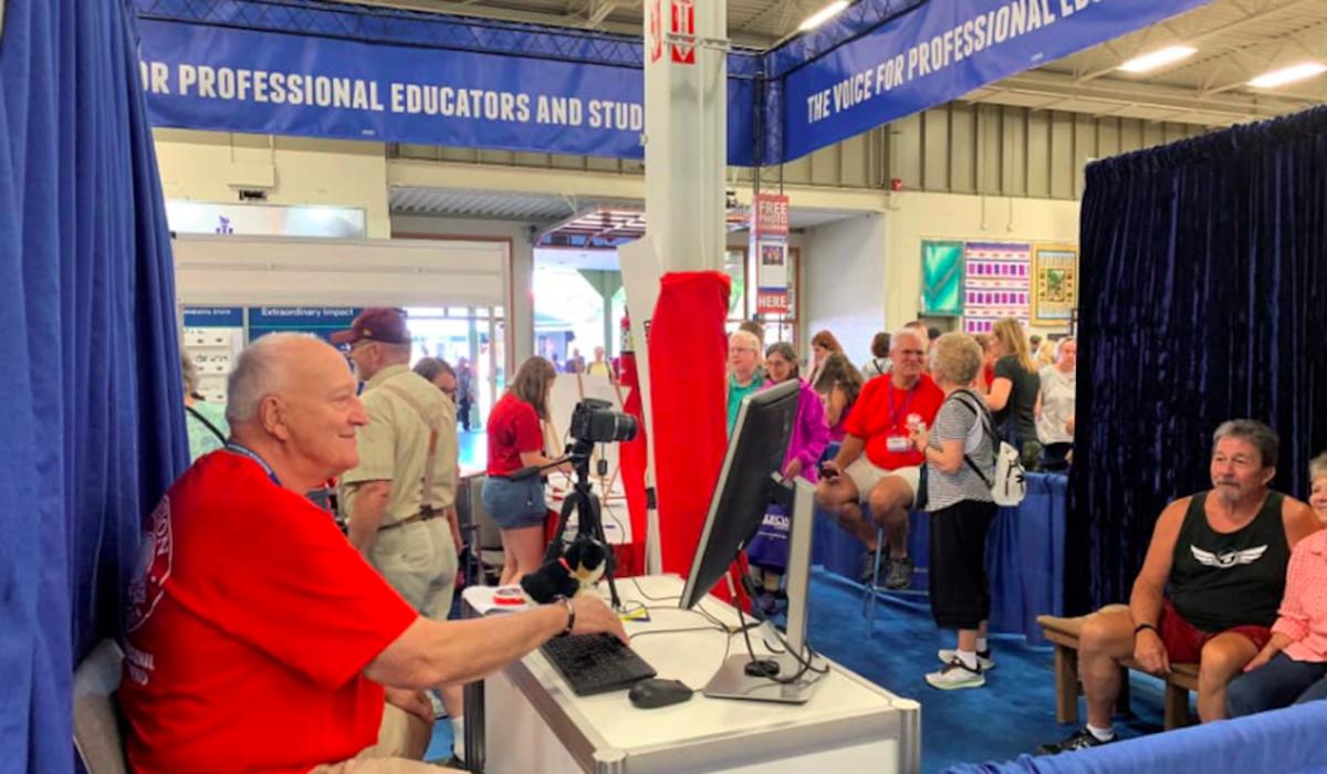 Education Minnesota at State Fair, 2019