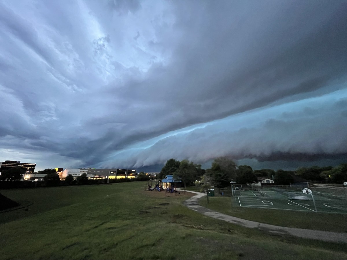 storm, severe, shelf cloud