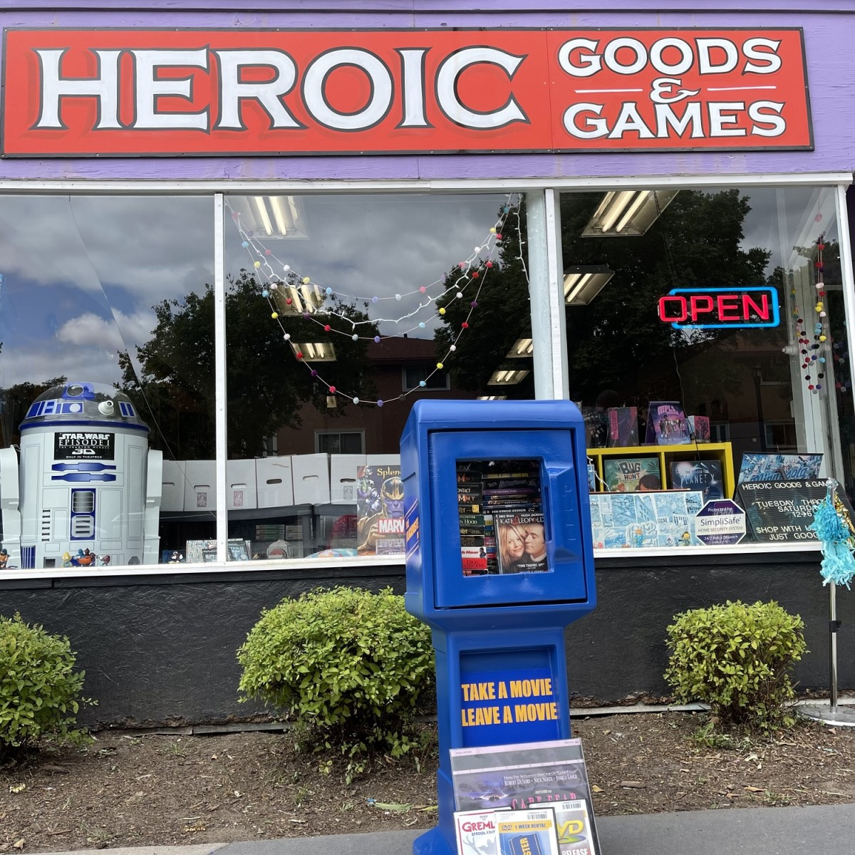 Heroic Goods and Games - Free Blockbuster 1