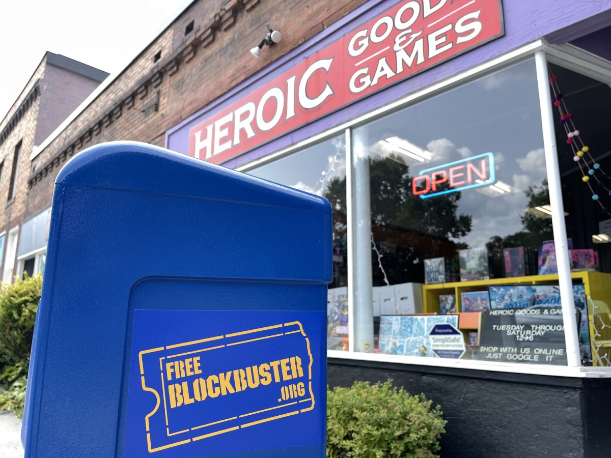 Heroic Goods and Games - Free Blockbuster 3