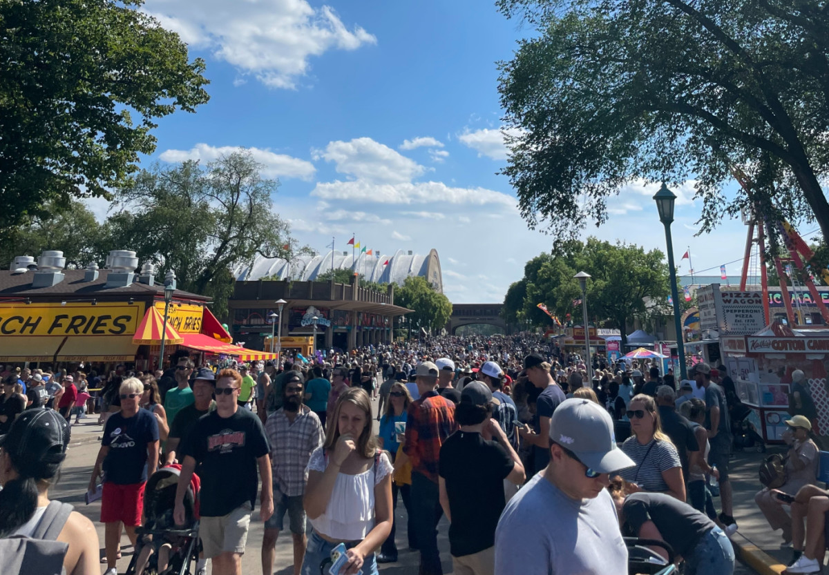 A view of the State Fair on Sunday, Aug. 29.