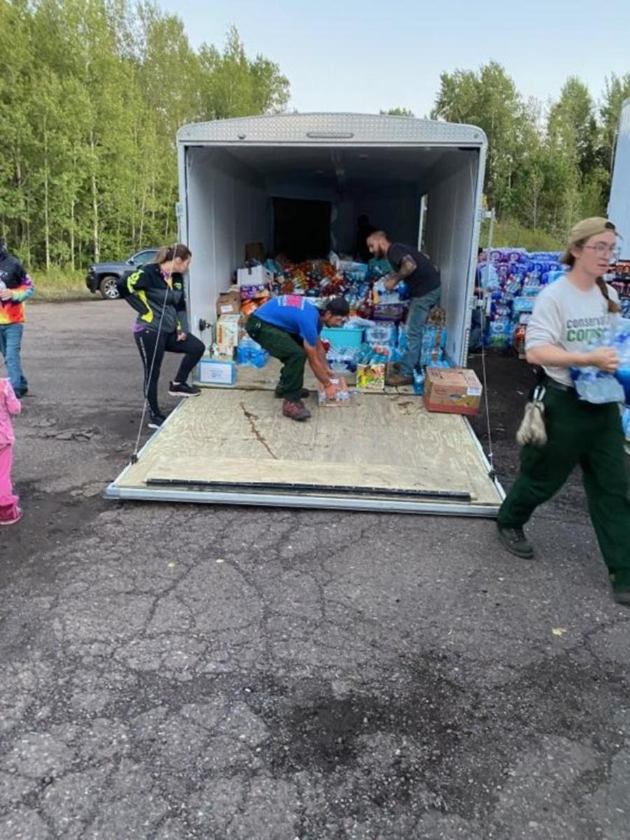 USFS Superior Natl Forest - Aug 30 2021 - donations 1