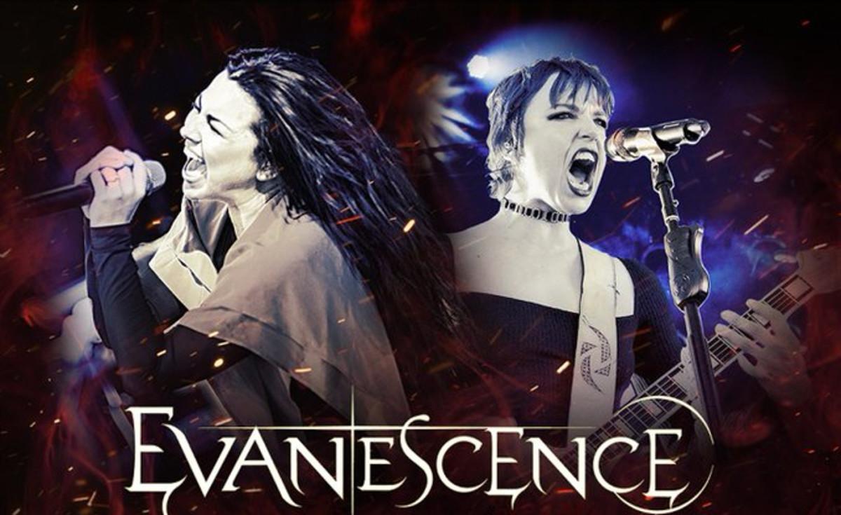 Evanescence tour twitter