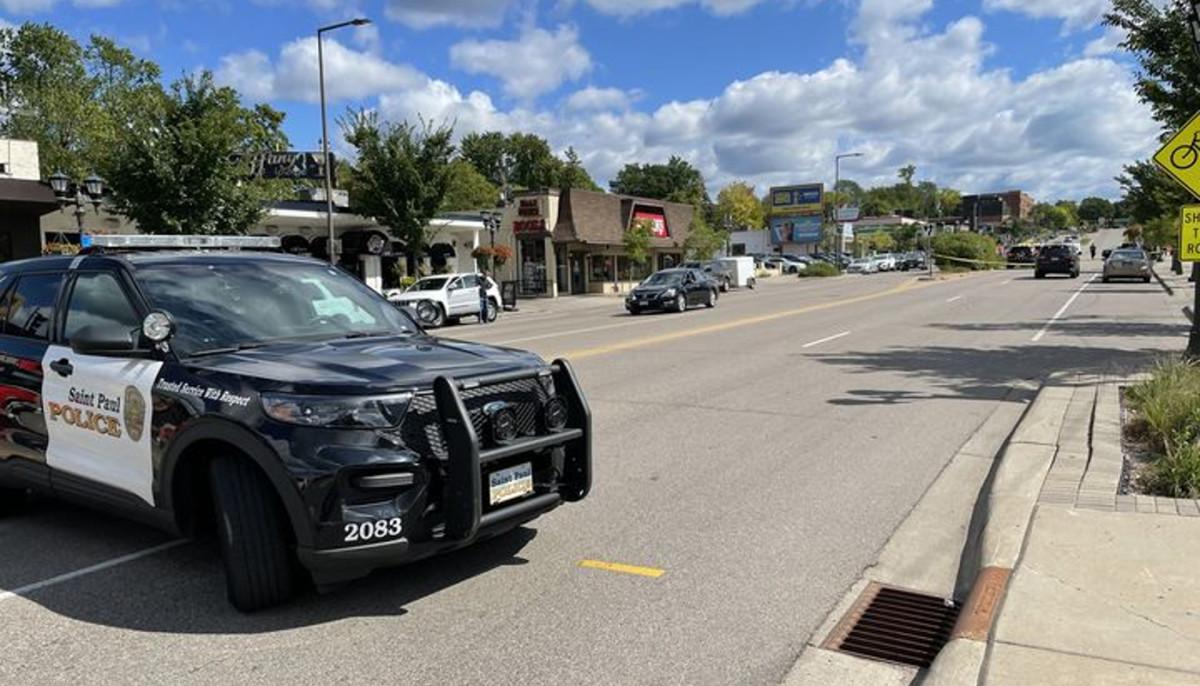 St Paul Police - crash highland park sept 8 2021
