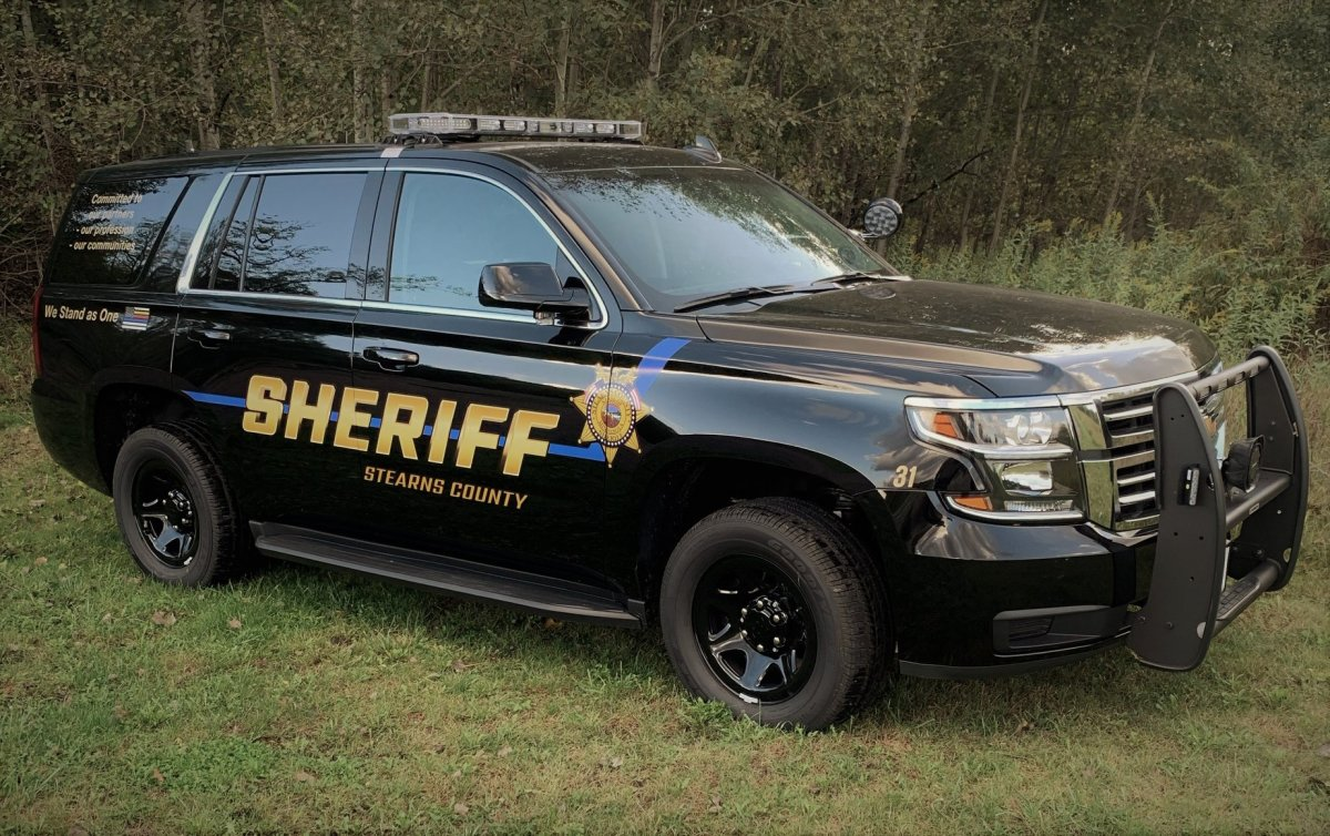 Stearns County Sheriff squad car Facebook