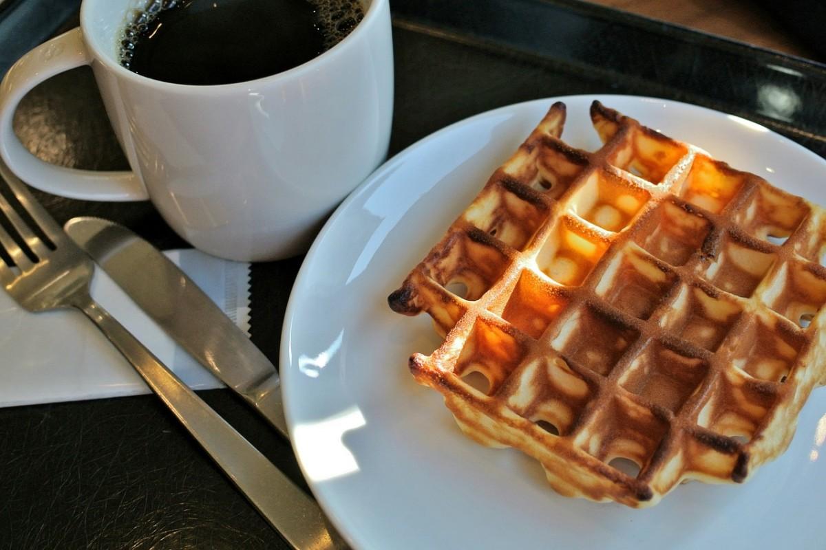 pixabay coffee waffles