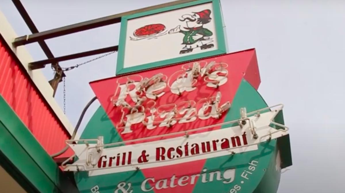 Red's Pizza in Oshkosh, Wisconsin